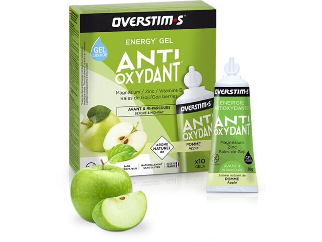 OVERSTIM.s Antioxydant Nestegeeli Pakkaus 10x30g, Apple